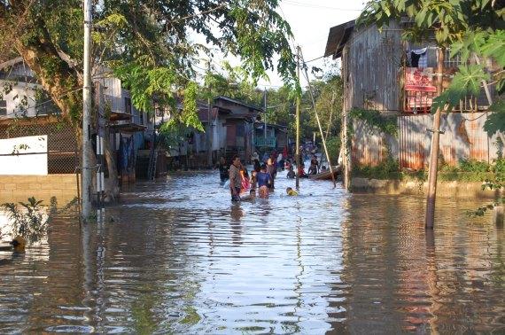 Temasya Banjir di Kubang Pasu, Kota Bharu, Kelantan.
