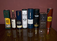 Deretan whiskies