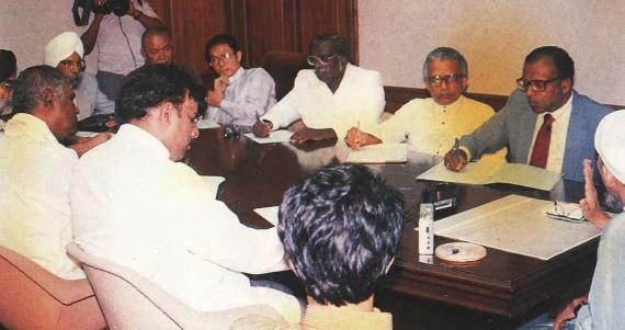 Mesyuarat dengan Ketua-ketua Agama bukan Islam, 1993.