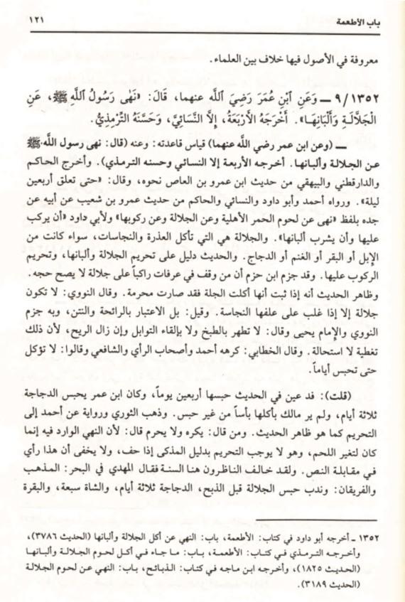 Petikan Kitab Subul al-Salam, jld 4, hlm 121