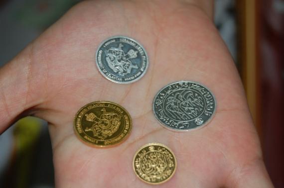 Antara dinar dan dirham Kelantan yang dipamerkan